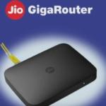 Jio giga router